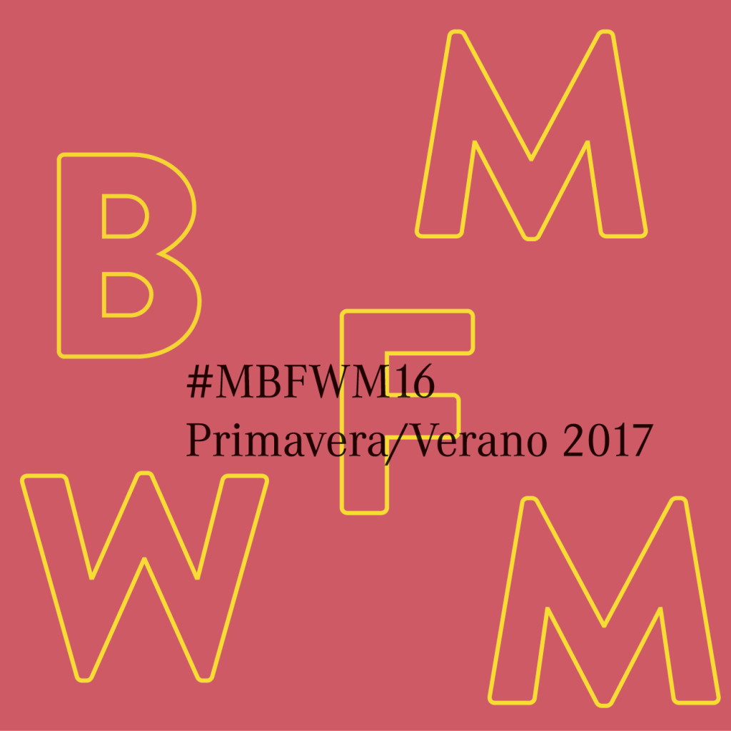 Mercedes Benz Fashion Week primavera/verano 2017