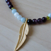 Collar Heet bisuteria artesanal detalle