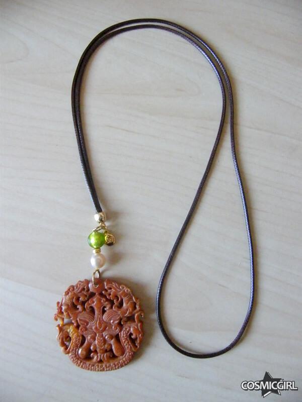 Collar Roma Jade bisutería artesanal