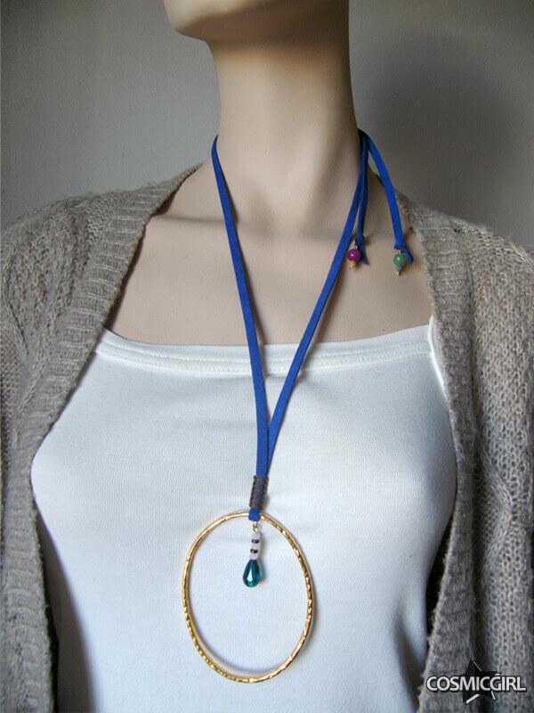 Collar Ring bisutería artesanal posición 4