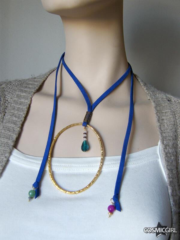 Collar Ring bisutería artesanal posición 1