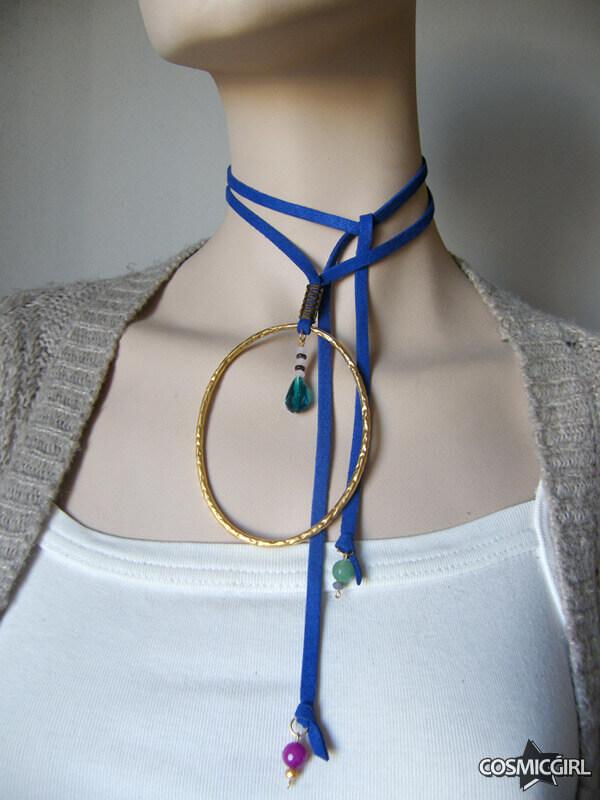 Collar Ring bisutería artesanal posición 2