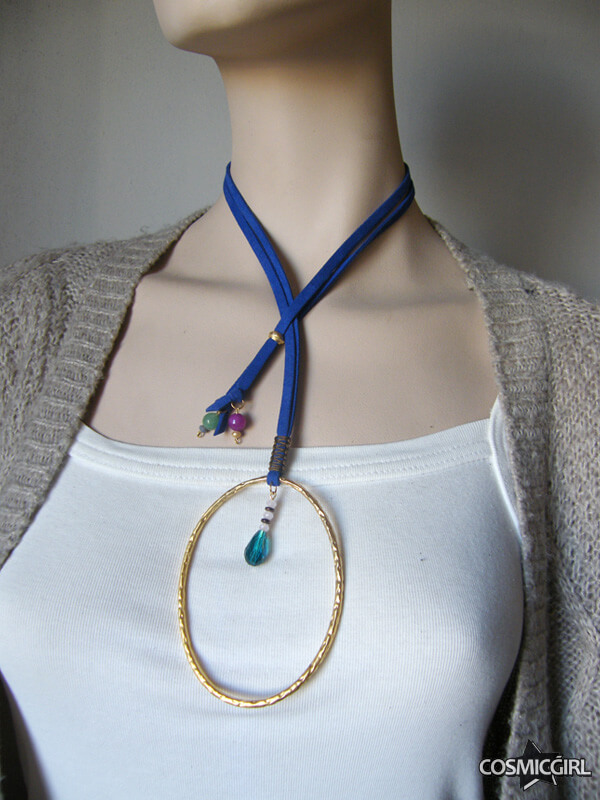 Collar Ring bisutería artesanal posición posición 3