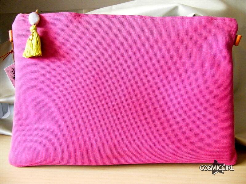 Bolso Pink bolso artesanal en piel