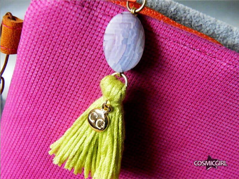 Bolso Pink detalle bolso artesanal en piel
