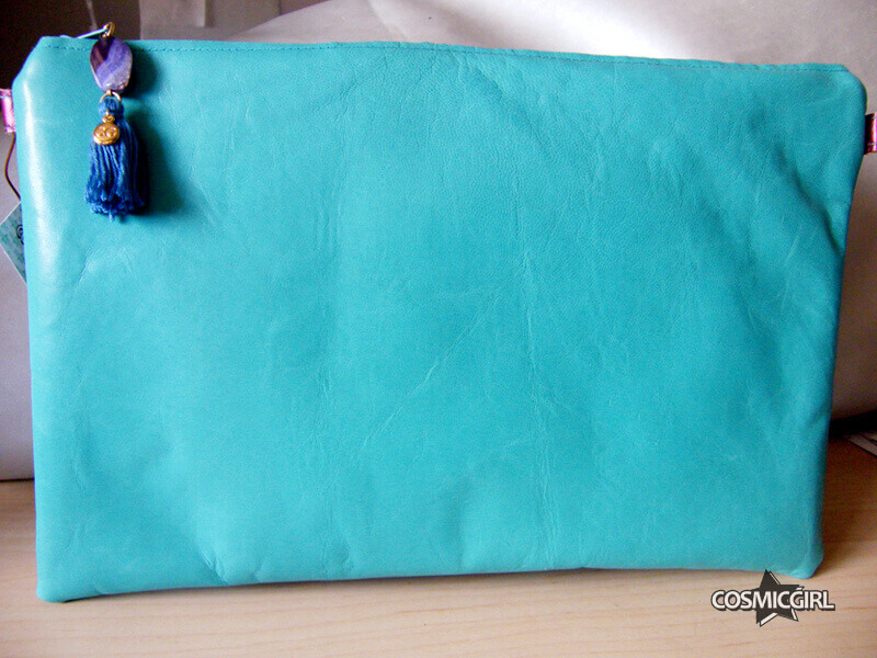 Bolso Turquo bolso artesanal en piel