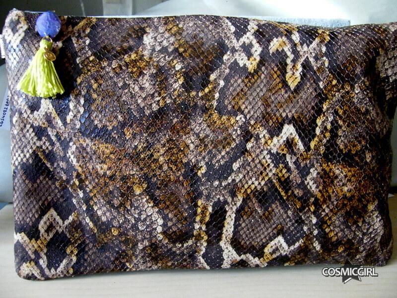 Bolso Snake bolso artesanal en piel
