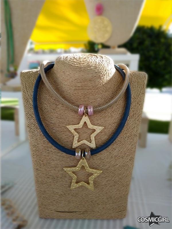 Collar Star bisutería artesanal